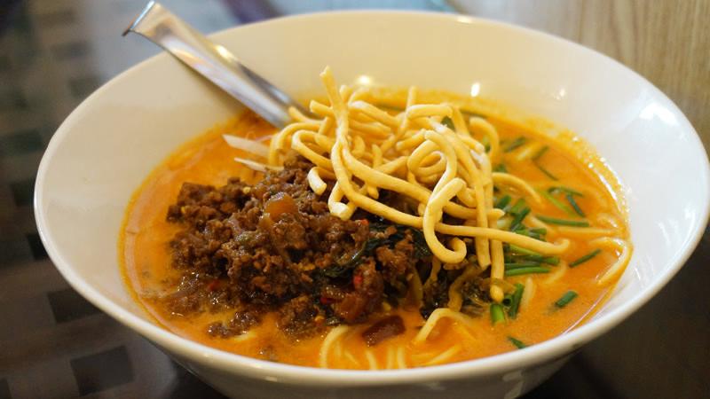 Thai Curry Ramen Pork