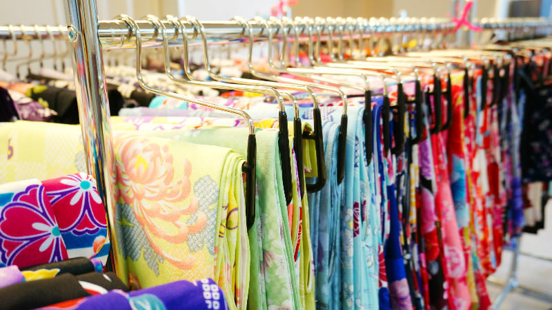 200 different kimonos