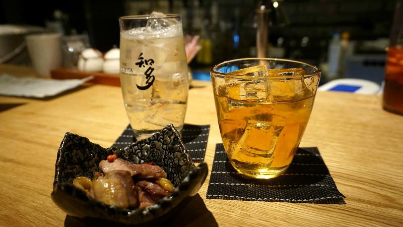 Suntory whiskey Chita, Yamazaki plum wine