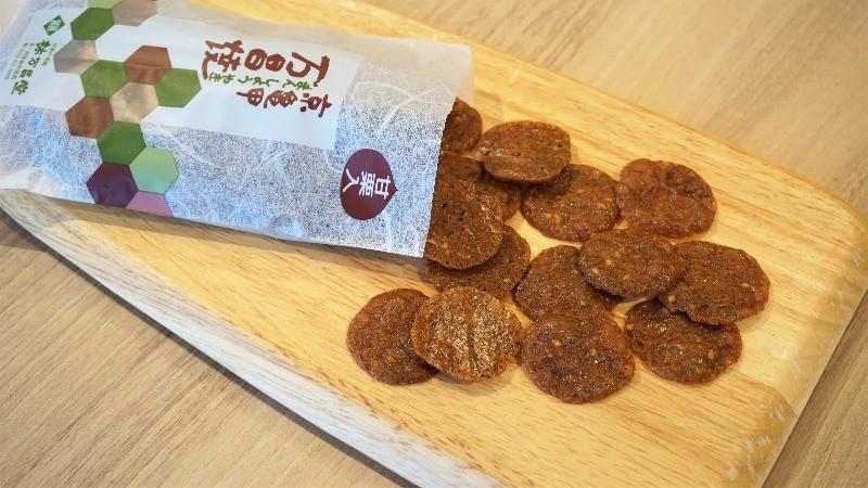 Masho-yaki chestnut biscuits