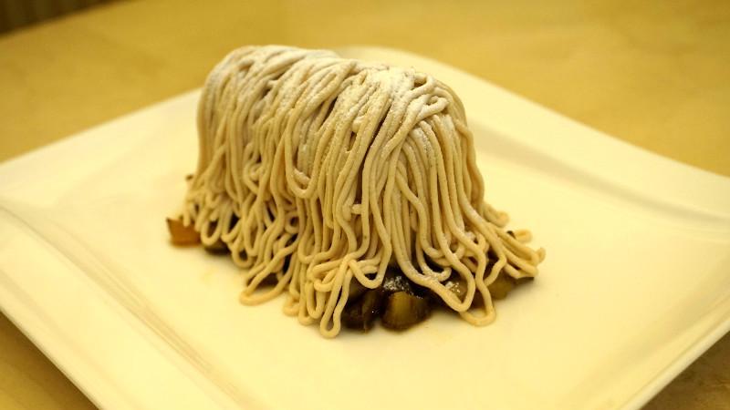 特製蒙布朗蛋糕 (モンブランオートクチュール)