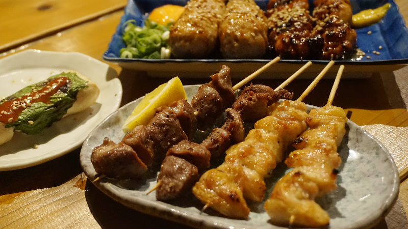 Chef's Choice of 10 Kushiyaki Skewers