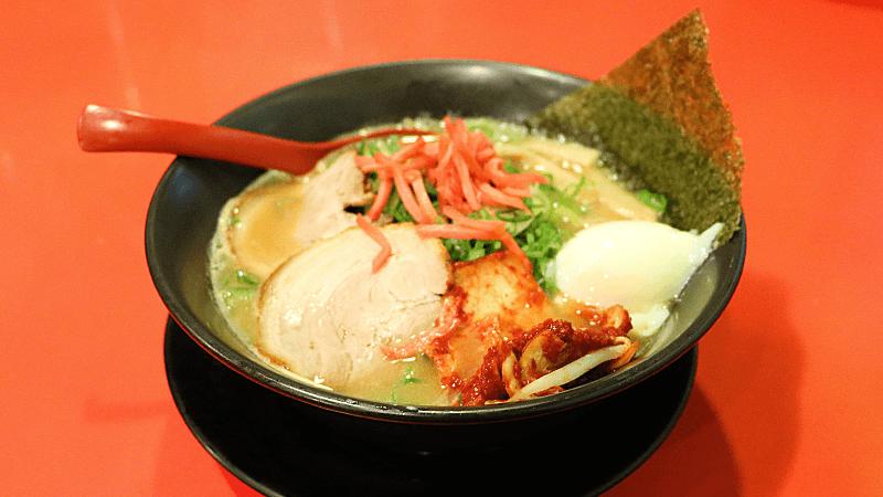 Pork rib Daichu Ramen