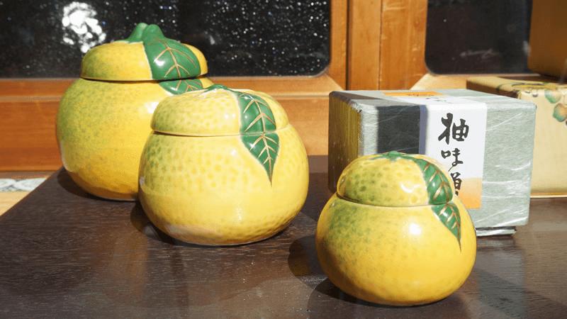 陶器裝柚味噌