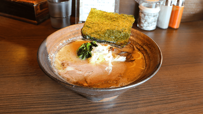 Tonkotsu and Soy Sauce Ramen