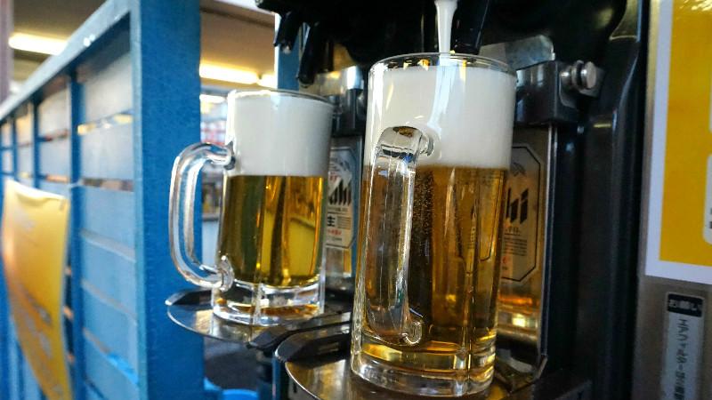 啤酒等約50種的飲品