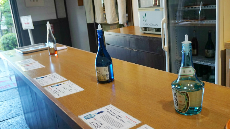 品嚐日本酒