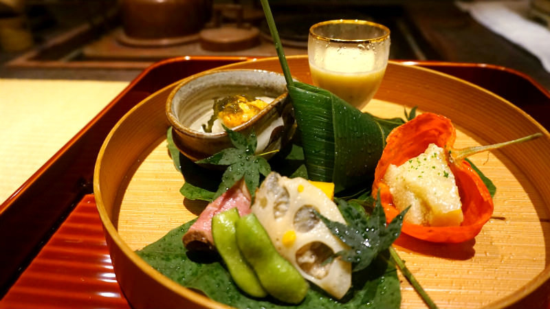 Enjoy seasonal tastes at Kyoto's kaiseki restaurants