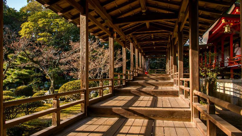Walk Through Murasame-no-roka (corridor)