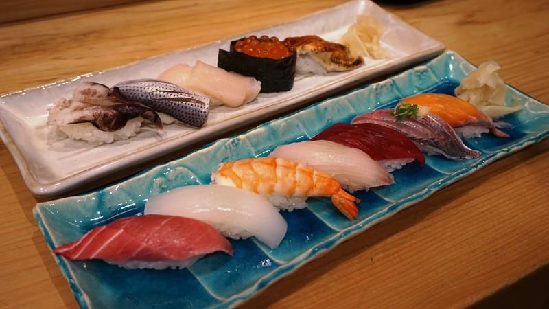 今日什錦握壽司