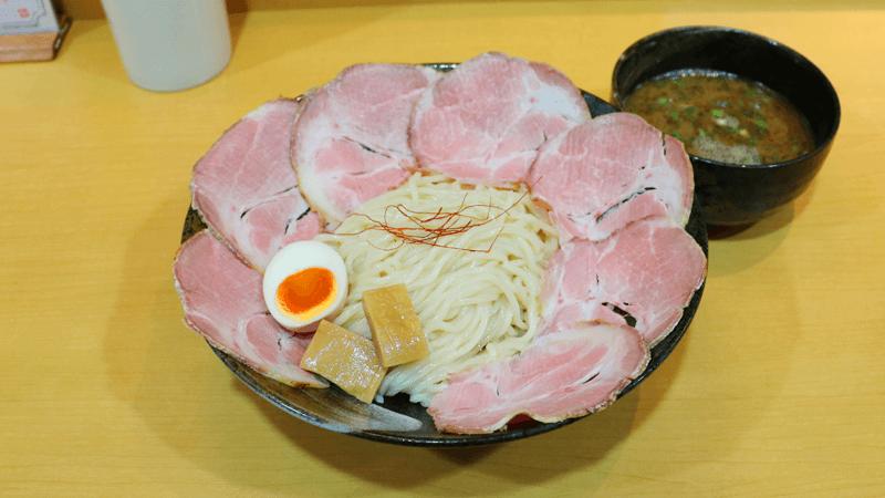 沾麵(加烤豬肉)