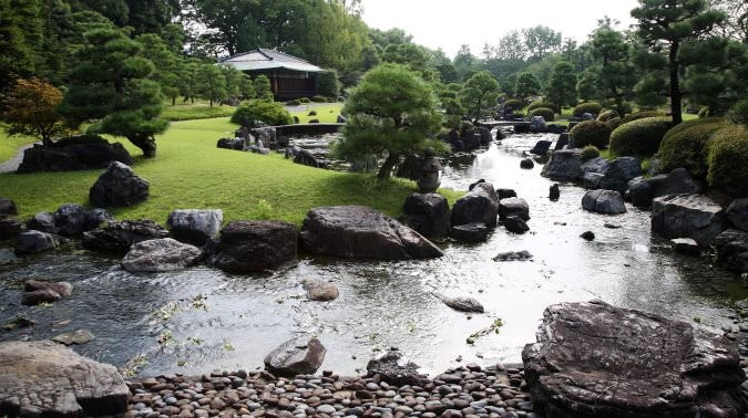 Seiryu-en garden