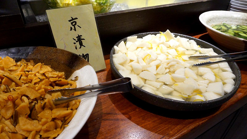 All-you-can-eat Japanese pickles