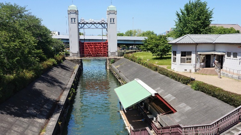 Mito Komon lock gates