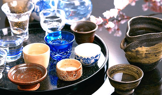Various kinds of Jizake