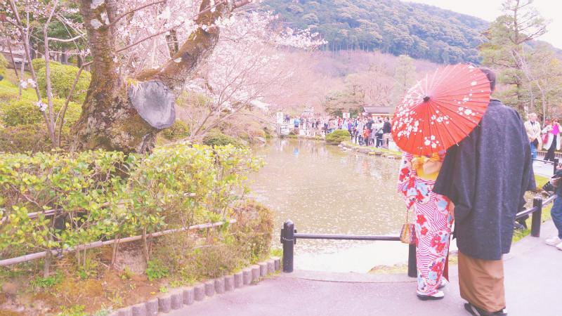 1天日幣1万円逛京都,大滿足!