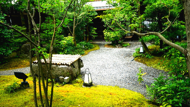 A Japanese garden tended for over 100 years