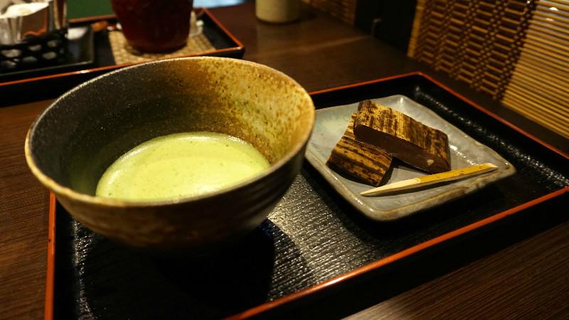 Decchi 羊羹與抹茶