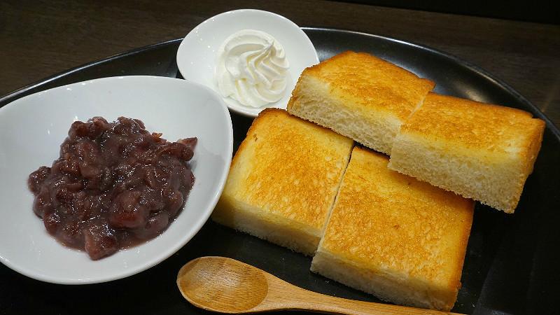 丹波大納言紅豆搭配吐司(含飲料)