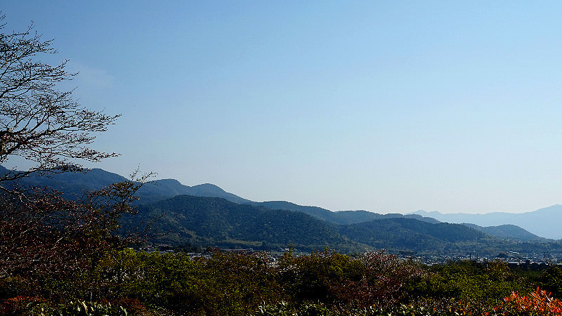 著名的群峰景色