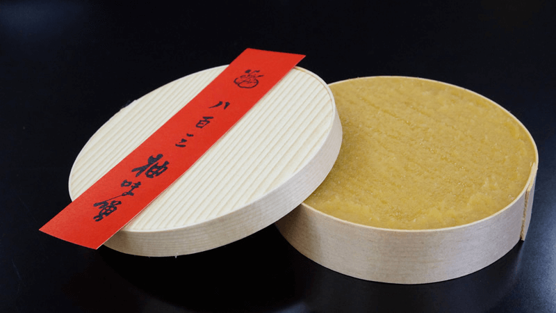 Yuzumiso in a wooden box
