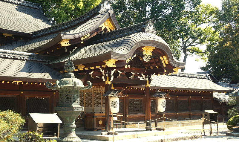 Main hall of the shrine