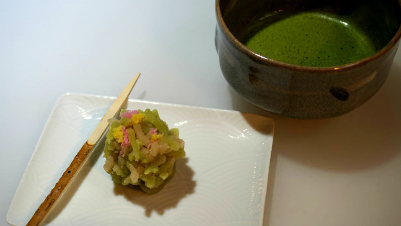 Eat Your Own Creations With Matcha Green Tea