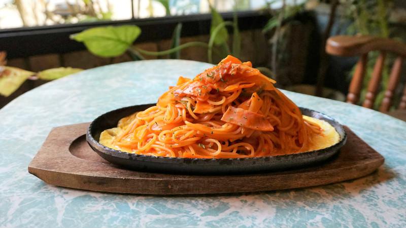 Teppanyaki hot plate ketchup-Napolitan
