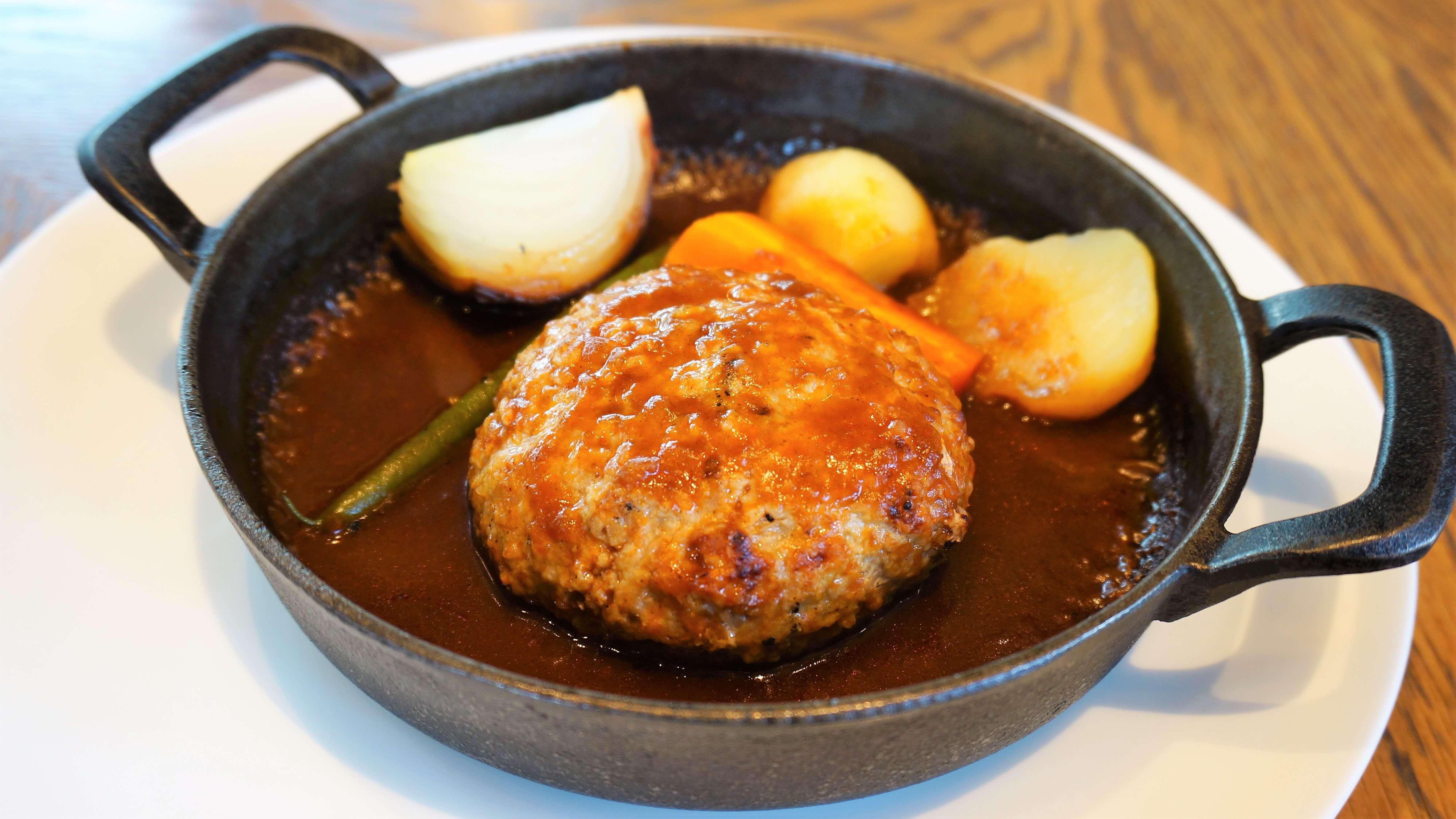 Kyoto-tofu Hamburg steak