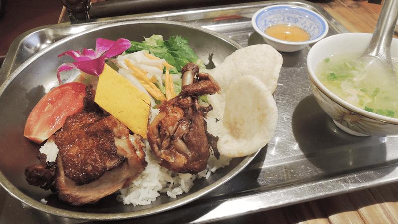 雞肉飯套餐