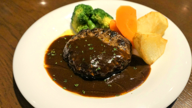 Beef Hamburg steak