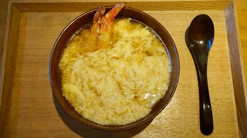 Ten-toji Udon (with Egg Soup)