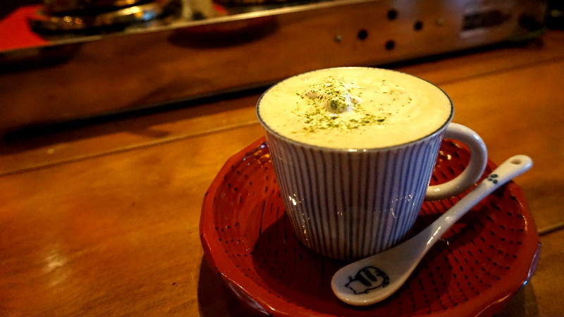 Matcha coffee