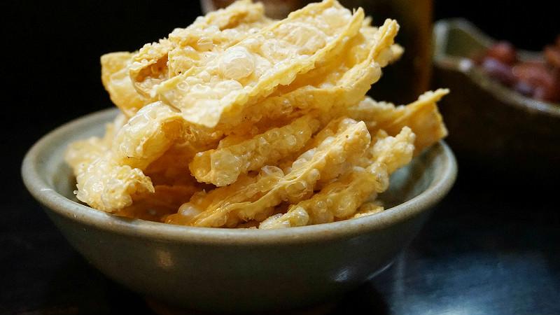 Fried Yuba (tofu skin)