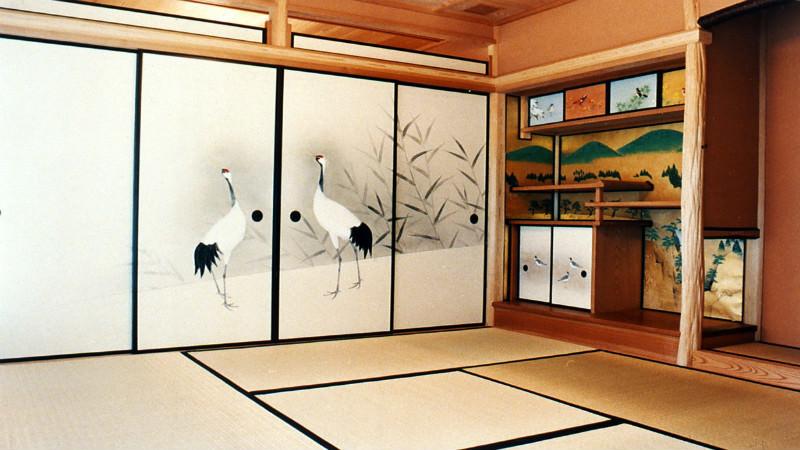 Tea room and tea ceremony