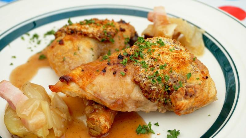 Confit of chicken (half size)
