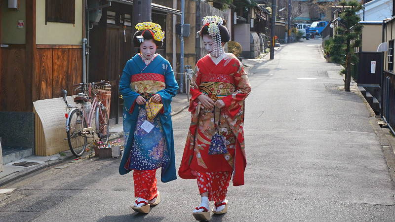 Transform Into Maiko (stroll plan)