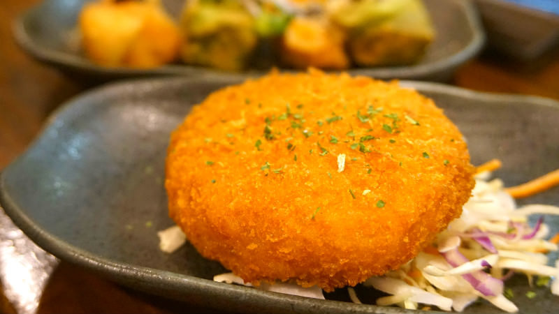 Old-style potato croquette