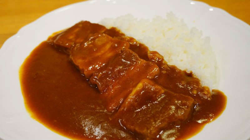 Stewed pork curry