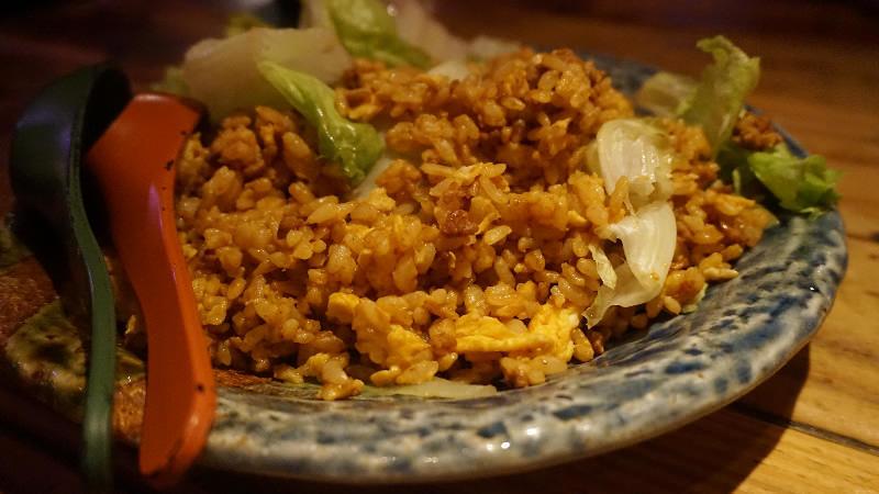 肉味噌生菜炒飯