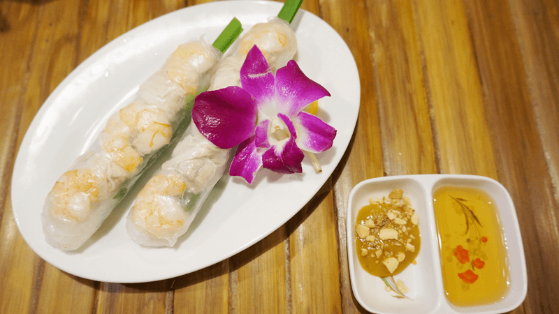 Fresh Spring Rolls [Soft Shrimp Rolls]