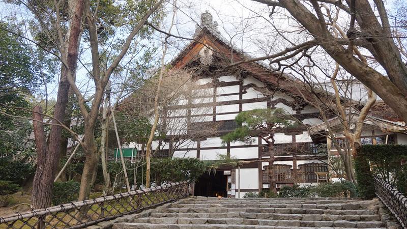 寺廟主建築庫裡