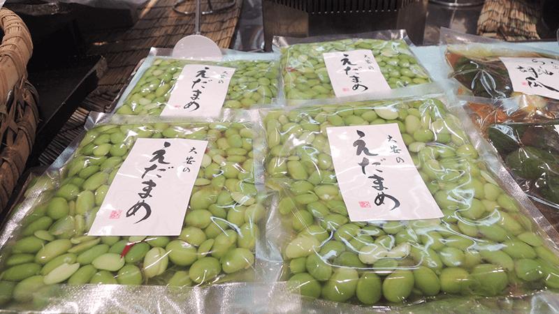 Edamame(green soybeans) tsukemono