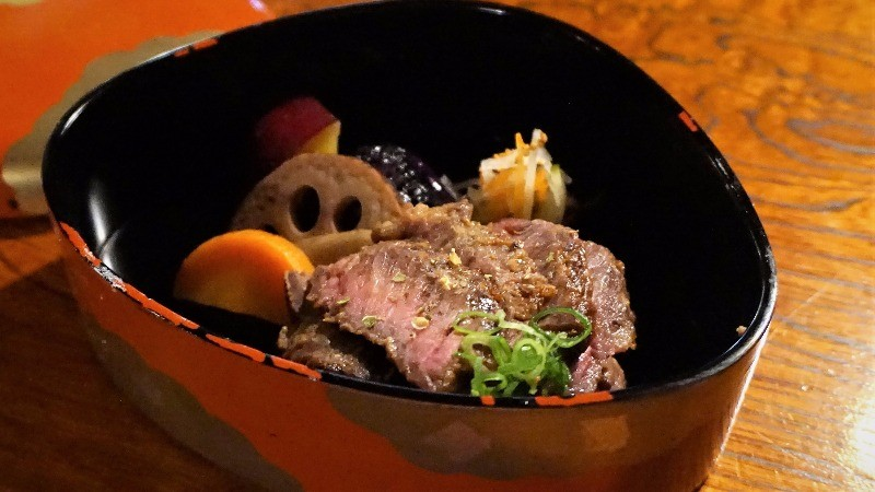 Oumi beef with miso