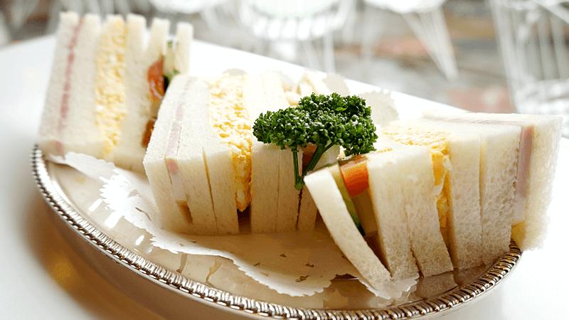 清水混合三明治套餐(可選咖啡或茶)