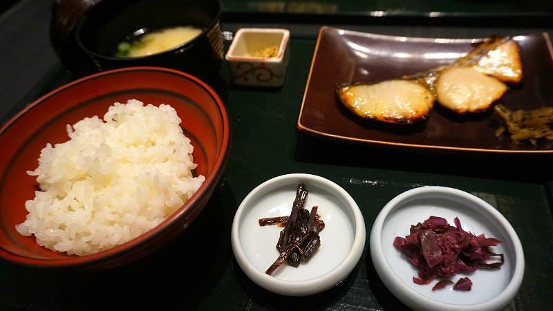 京都式甜味噌醃漬土魠魚套餐