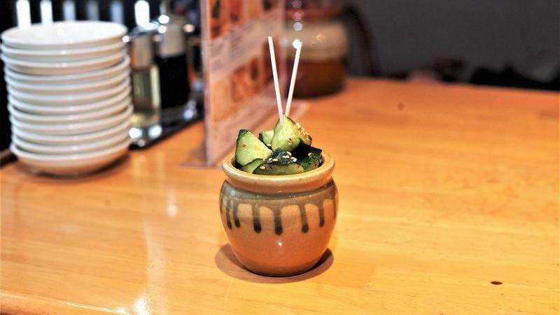 Cucumber in a vase