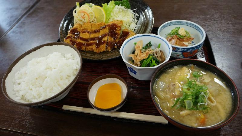 Tonkatsu Meal set