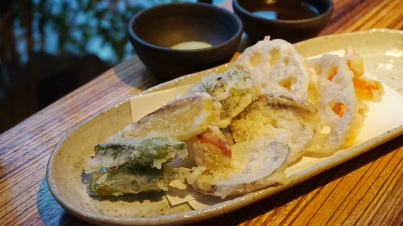Tempura about 5kinds of vegetables