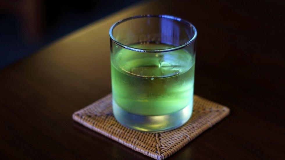Samurai sake cocktail